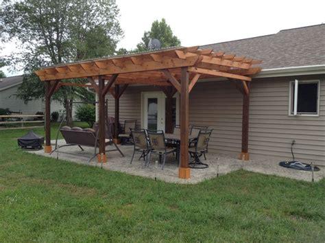 covered pergola plans covered pergola plans 12x18 outside patio wood design