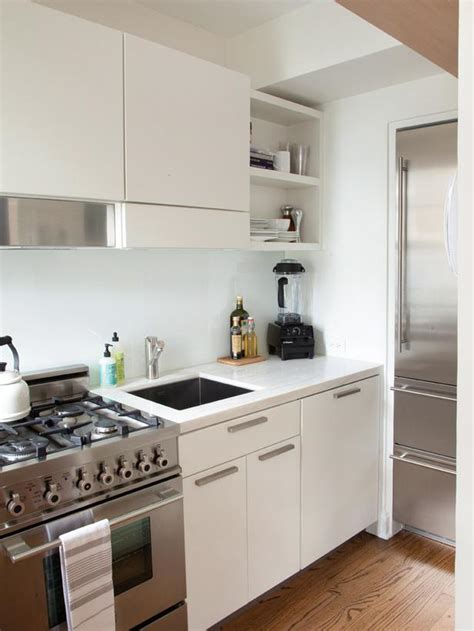 kitchen design white appliances small space kitchen with white cabinets hgtv