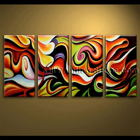 home decor painting ideas large wall abstract painting home decoration