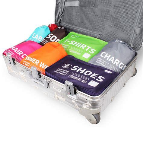 sacs chaussettes rangement valise