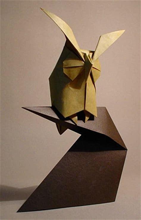 owl origami owl komatsu hideo origamidaily library