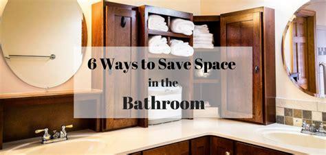 bathroom space saving ideas 6 space savers for small bathrooms space saving bathroom