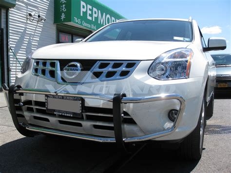 nissan rogue chrome rear bumper protector