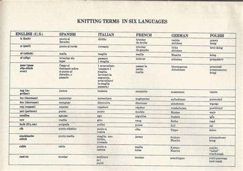 knitting terms mod 232 les gratuits de marianna