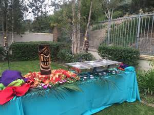 backyard luau ideas backyard luau in newport at your service catering