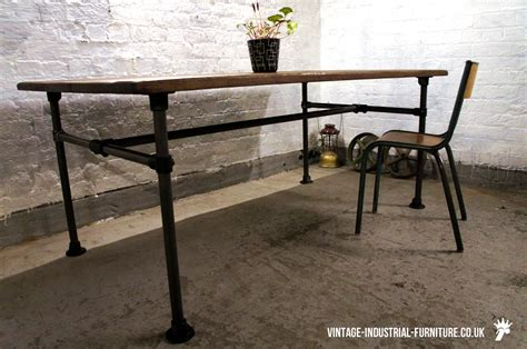 shop kitchen tables oak dining table with tubular legs