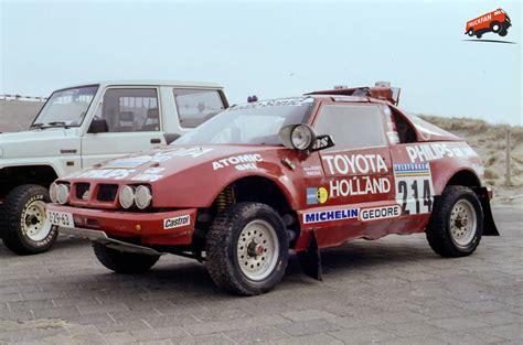 Daihatsu Rocky Engine by Daihatsu Toyota Engine Prototype Dakar 1987 Deel 2