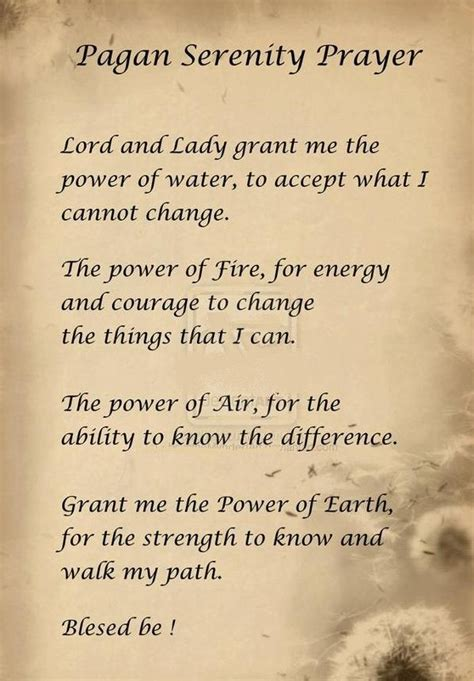 wiccan prayer nordic wiccan prayer