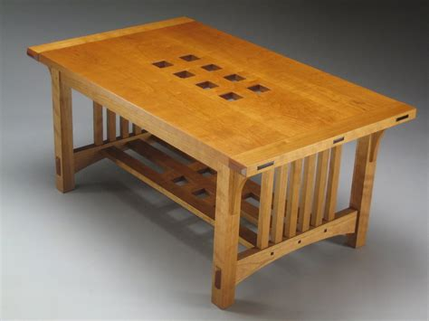 arts and crafts coffee table plans arts crafts coffee table two flavours by senomozi