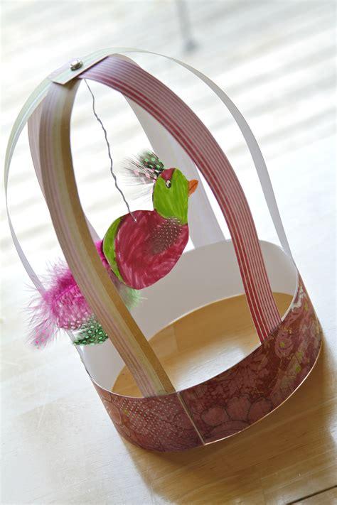 paper bird cage craft s arts and crafts corner 2012 c