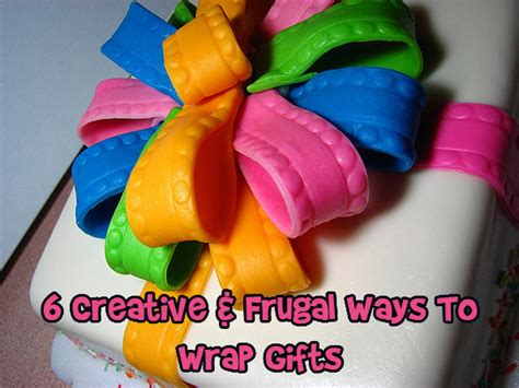 6 creative frugal ways to wrap gifts bargainmoose canada