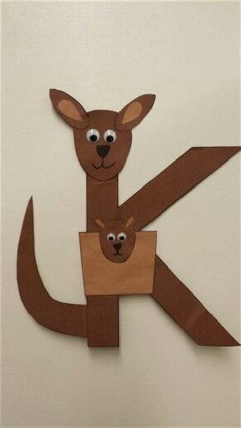 kangaroo paper craft 25 unique kangaroo craft ideas on kangaroo