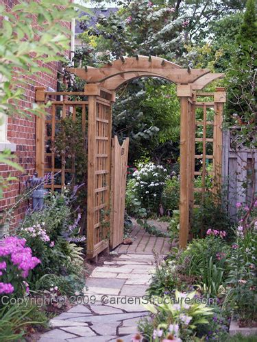 Garden Arbor Plans Plans Table How To Build A Shed Gate Garden Arbor