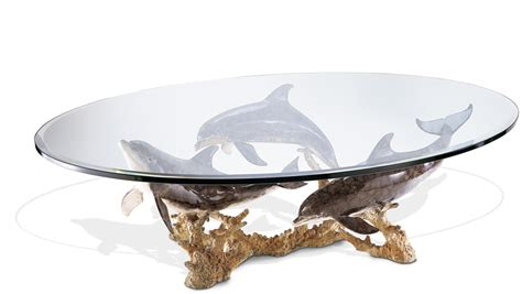 dolphin coffee table dolphin reef coffee table