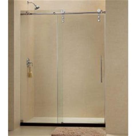 sliding shower doors home depot dreamline enigma z 44 to 48 in x 76 in frameless sliding