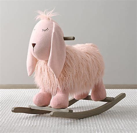 stuffed animal rocker plush sheep rockers animal rocker