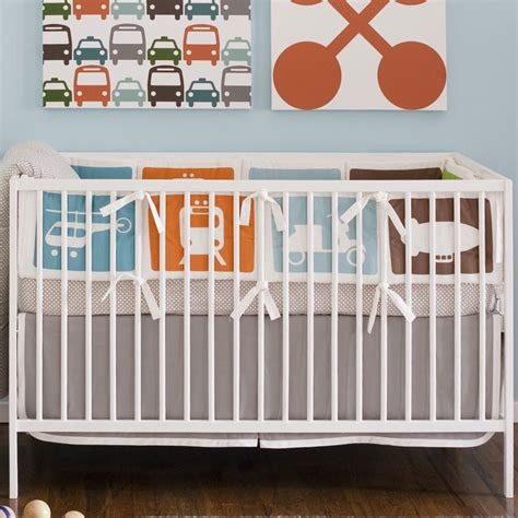 transportation crib bedding dwell studio crib bedding transportation