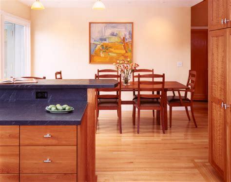 Shaker Dining Room Chairs custom cherry wood cabinets
