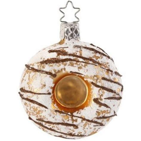 inge glas inge glas christbaumschmuck donut