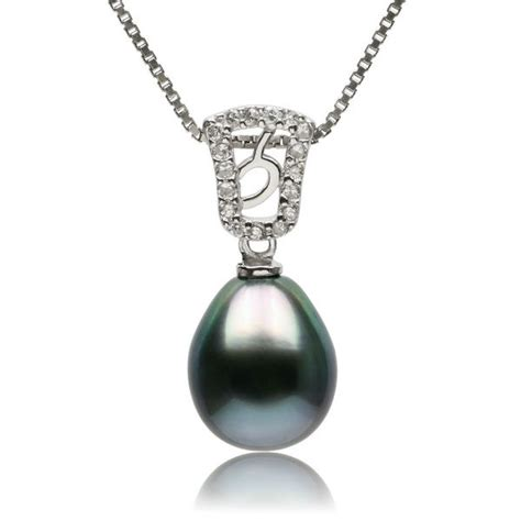pearl pendants for jewelry 925 sterling silver baroque tahitian black pearl
