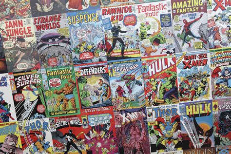 comic books pictures comic books lots of comic books at the l a county fair