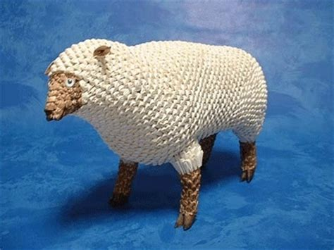 3d origami sheep 353 best 3d origami images on origami