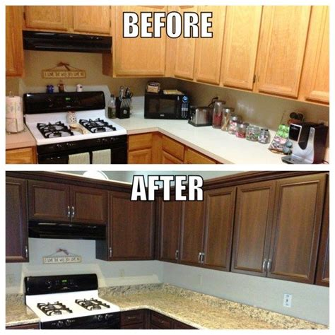 kitchen cabinet refinishing before and after cabinet refinishing angies list