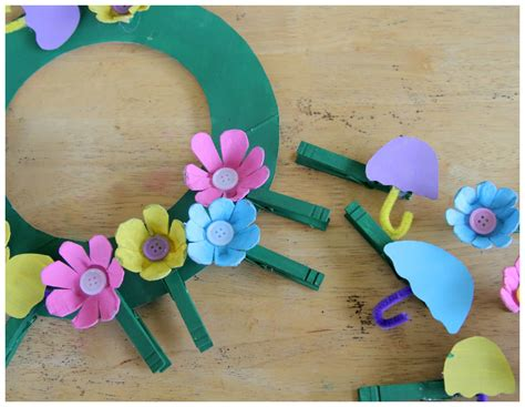 april crafts for april showers bring may flowers crafts