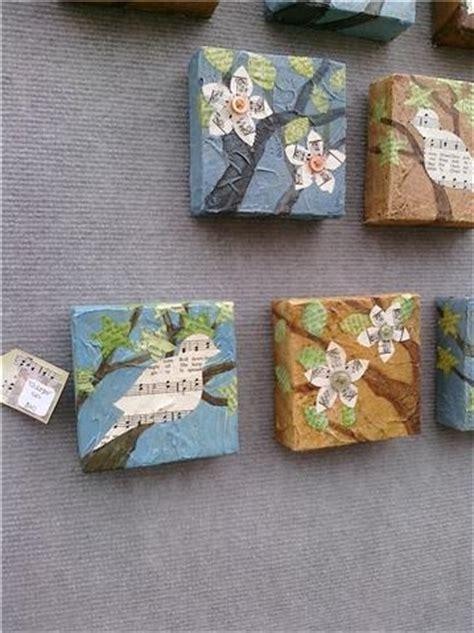 decoupage collage ideas 25 best ideas about decoupage canvas on