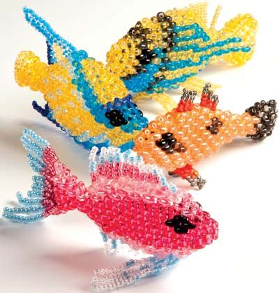 bead fishing projects home d 233 cor fish with seed