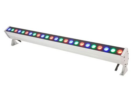 led rgb lighting american lighting led linear rgb wall washer 16in