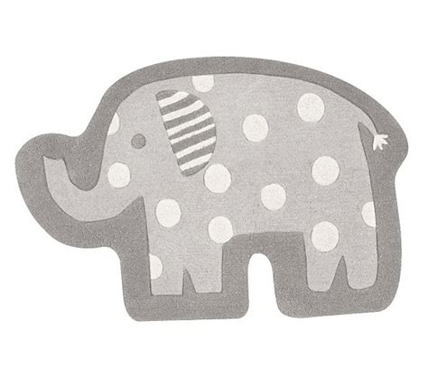 elephant bathroom rug elephant shaped rug pottery barn
