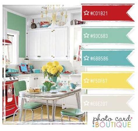 paint colors for vintage kitchen retro kitchen color scheme papercraft juxtapost