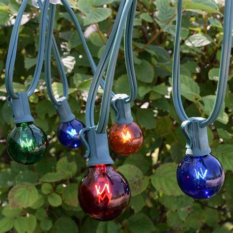 50 string lights 50 multi color globe string lights lights