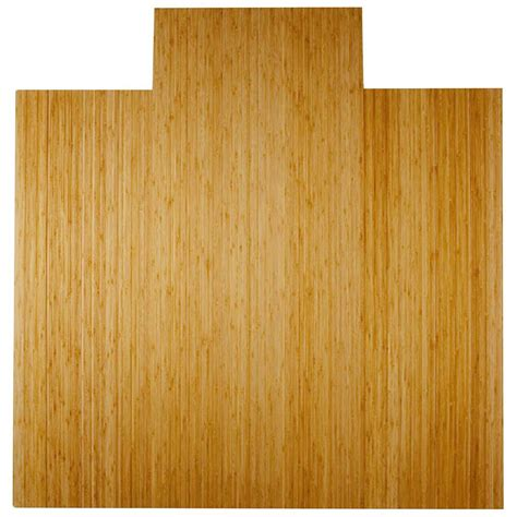 Bamboo Desk Chair Mat by Bamboo Roll Up Office Chair Mat In Chair Mats