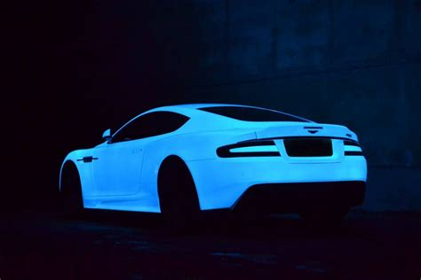 glow in the paint car glow in the aston martin dbs by nevana designs gearnova