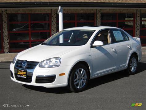 2007 Volkswagen Jetta Wolfsburg Edition 2007 canella white volkswagen jetta wolfsburg edition