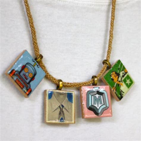 scrabble tile necklace scrabble tile pendants nimmity