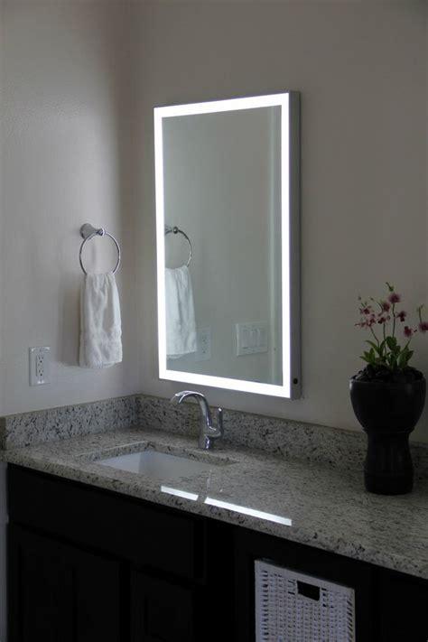 led illuminated bathroom mirrors best 25 illuminated mirrors ideas on diy