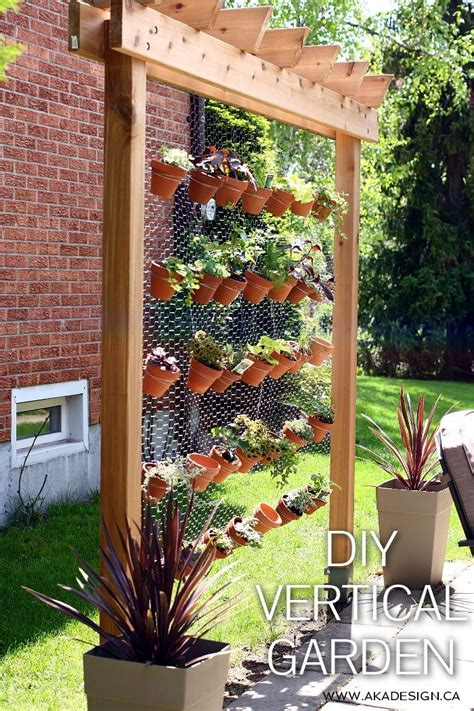 how to make a vertical wall garden how to build your own diy vertical garden wall
