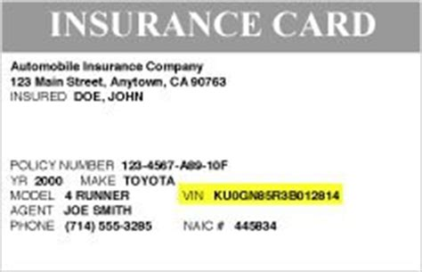how to make a auto insurance card toyotacare no cost maintenance plan roadside assistance