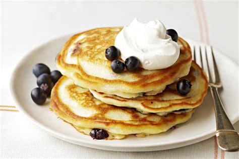 recipe blueberry pancakes blueberry pancakes recipe kraft canada
