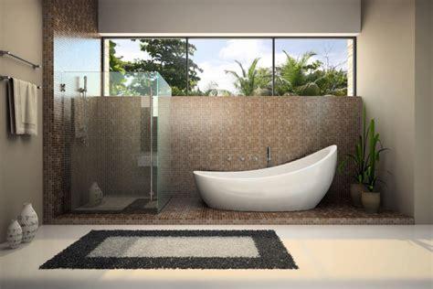 Spa Bathroom Decor plants in the shower planterra