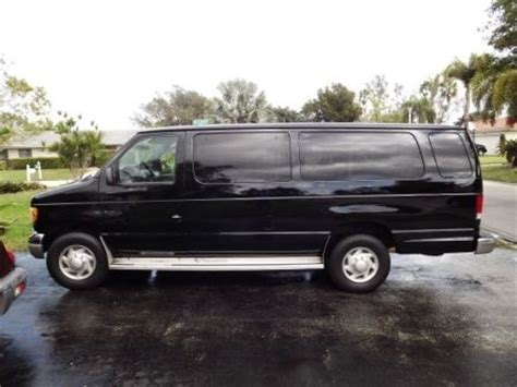 how cars run 2001 ford econoline e350 electronic toll collection purchase used 2001 ford econoline e 350 15 passenger van in pompano beach florida united states