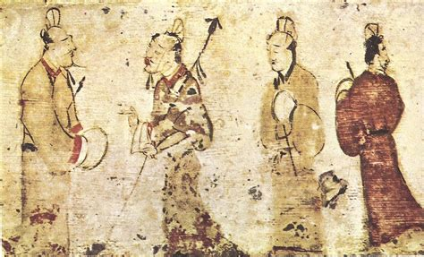 chino painting in china file gentlemen in conversation eastern han dynasty jpg