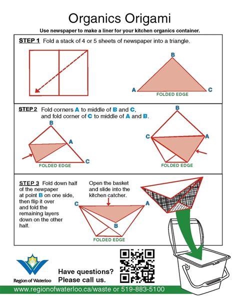 origami garbage bin pin by tchernykh on crafts
