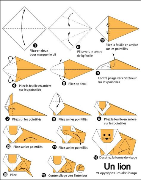 easiest origami animal paper craft origami