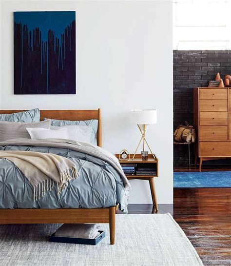 modern style beds 25 best ideas about mid century bedroom on