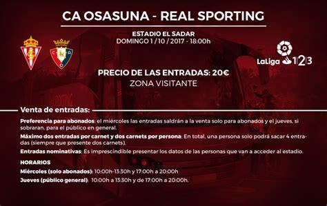 precio entradas sporting venta de entradas para plona sporting web oficial