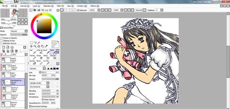 paint tool sai v1 paint tool sai v1 2 5 with cracks 4